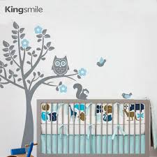aliexpress buy modern owl flower tree wall sticker nursery