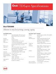 tds400 spec pdf image scanner microsoft windows
