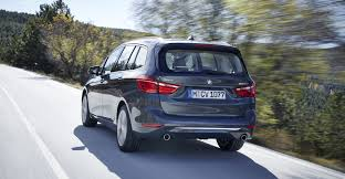 bmw minivan bmw 2 series gran tourer revealed photos 1 of 9