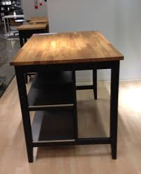 Powell Color Story Black Butcher Block Kitchen Island Love This Kitchen Island Stenstorp Island 399 Space