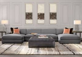 Rooms To Go Sofa Bed Central Avenue Gray 3 Pc Sectional Living Room Sets Gray