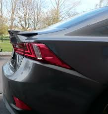 lexus rc 350 spoiler picture request aftermarket rear spoilers on the 3is clublexus