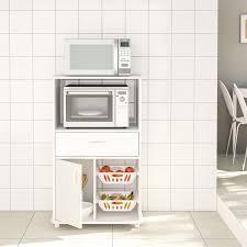 white storage cabinet for kitchen kitchen storage cabinet white 1 drawer and microwave stand