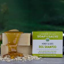 dog shampoo honey u0026 oats chagrin valley soap and salve