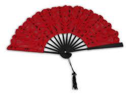 black lace fan battenberg lace fan with black trim