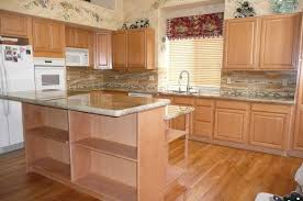 Refinish Oak Kitchen Cabinets by Kitchen Creative Refinish Wood Kitchen Cabinets Good Home Design