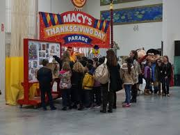 a sneak peek at the new floats of macy s thanksgiving day parade