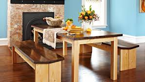 How To Build A Bench Seat For Kitchen Table Diy Dining Table Set
