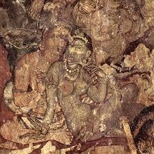 ajanta caves rock cut buddhist temples wondermondo mural in ajanta caves