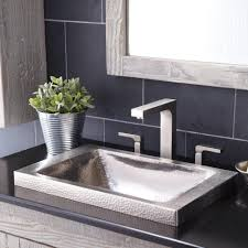 bathroom sink drop in bathroom sinks rectangular vessel sink