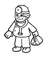 nurse coloring book pages doctor cartoon coloring pages