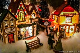 miniature halloween village miniature christmas villages u2013 happy holidays