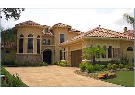 spanish style houses and house plans the plan collection home