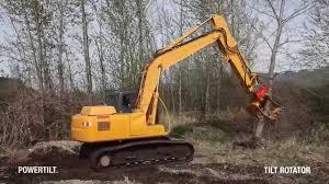 tilt rotator tree removal