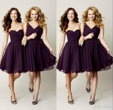 Bridesmaid Dresses Online 2015 Formal Two Style Short Chiffon Bridesmaid Dresses Party