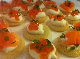 bellini canape recipe canapés for beginners brilliantly blinis the