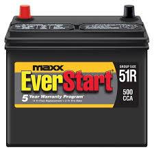 2009 honda civic lx battery everstart maxx lead acid automotive battery size 51r