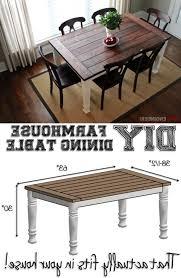 dining table plans rustic farm tables trestle farmhouse with