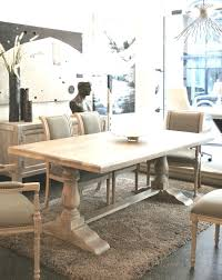 Trestle Dining Room Table Sets Unique 50 Trestle Dining Room Table Best Scheme Bench Ideas