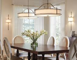dining room awsome floor lamp over dining table dining room