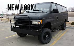 jeep van truck epic 4x4 beast ford e 350 bug out van youtube