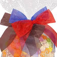 pre bows pre organza bow