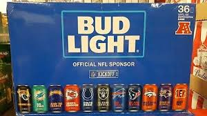 how much is a 36 pack of bud light new 28 bud light football raiders beer decorative banner sign nfl