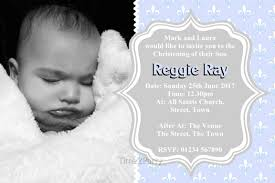 Personalised Christening Invitation Cards Time2party Personalised Invitations Wedding Invitations