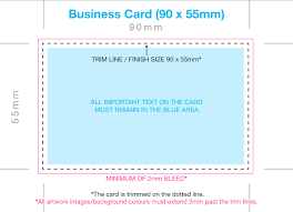 Business Card With Bleed Why Bleed Is So Important To Your Online Printing Success