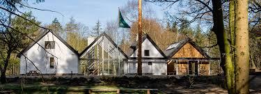 a building with several faces nøjkærhus culture house detail