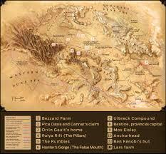 Oasis Map The World Of Star Wars Kenobi Starwars Com