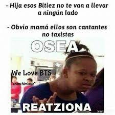 Memes Funny En Espaã Ol - bts memes en espa繿ol taxistas bts memes wattpad and memes