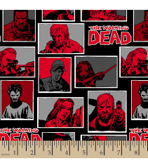 walking dead wrapping paper the walking dead fleece fabric 59 comic joann
