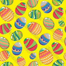 easter wrapping paper digital paper