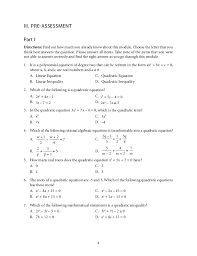 algebra 1 quadratic equations worksheets best research papers in