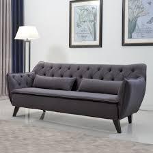 modern sofas allmodern mid century sofa loversiq