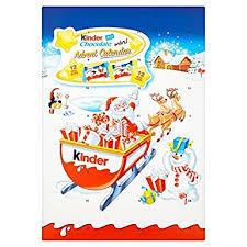 chocolate advent calendar kinder chocolate advent calendar 135g co uk grocery