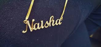 custom name chains how to get a customized name pendant made in india personalized
