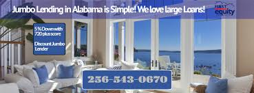 5 Home Loans by First Equity Home Loan Inc Alabama Discount Jumbo Mortgage
