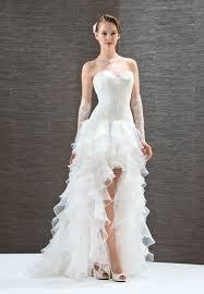 robe de mari e original robe de mariée courte devant robe de mariée style flamenco robe