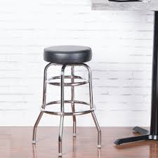 lancaster table and seating lancaster table seating black double ring barstool with 3 1 2