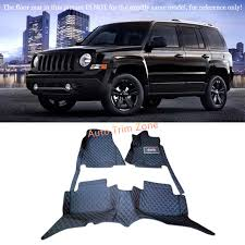 jeep patriot 2010 interior black interior leather floor mats carpets foot pads for jeep