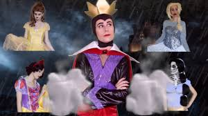 the evil queen and her dead disney princesses halloween trailer