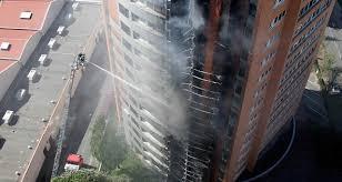 bureau logement tours les tours de logements peuvent aussi brûler en