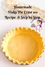 homemade sweet short crust pastry 101 recipe veena azmanov