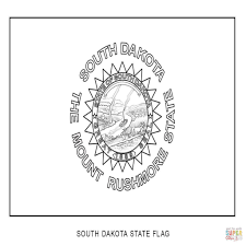 Maine State Flag State Flower Coloring Pages Delaware State Flower Coloring Page