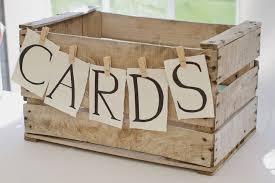 unique graduation card boxes 15 unique wedding reception ideas on a budget wooden cards box