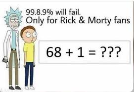Rick And Morty Meme - dopl3r com memes 99 8 990 will fail only for rick morty