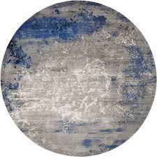 Blue And Grey Area Rug Nourison Twilight Blue Grey Area Rugs