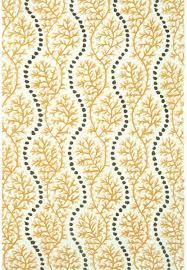 rug market resort 25439 coral cascade yellow grey white area rug